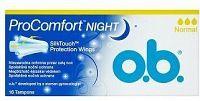 DH tampóny o.b. ProComfort Night normal 16ks