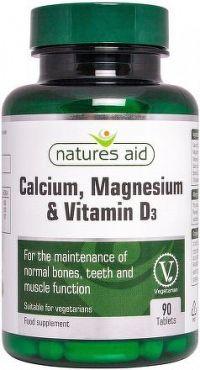 Elanatura Vápník, Hořčík a Vitamin D3 90 tobolek