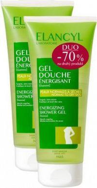 ELANCYL Energizující sprchový gel 200ml DUO