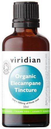 Elecampane Tincture 50ml Organic