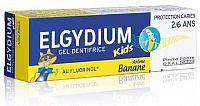 ELGYDIUM KIDS gel.ZP s fluorin.2-6 let 50ml banán