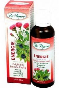 Energie bylinné kapky Dr.Popov 50ml