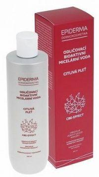 EPIDERMA bioaktivní CBD micel.voda odlič. 300ml