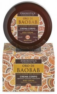 Erboristica Oro di Baobab tělový krém regenerační 150 ml