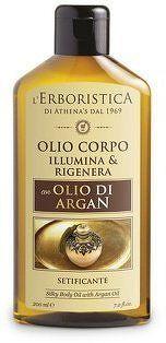 Erboristica Tělový olej regenerační s arganovým olejem 200 ml