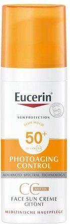 EUCERIN SUN CC krém na op SPF50+ s.tmavý 50ml_2018