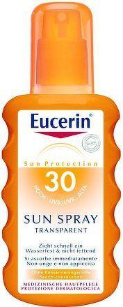 EUCERIN SUN Transparentní sprej SPF30 200ml_2018