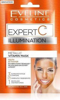 EVELINE Expert C pleťová maska 3v1 2x5ml