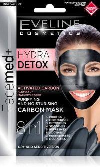 EVELINE Facemed Hydra Detox pleťová maska 8v1 2x5ml