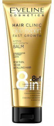 Eveline Hair Clinic Oleo Expert - intenzivní růstový balzám na vlasy 250ml