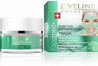 Facemed čistící pleťová maska se zeleným jílem
