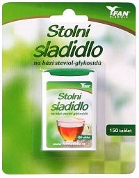 Fan sladidlo Stevia 7.8g/150 tablet