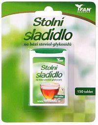 Fan sladidlo Stevia 7.8g/150 tablet