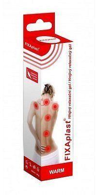 Fixaplast Warm Hřejivý relaxační gel 40g