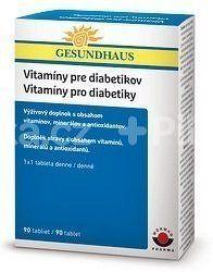 GESUNDHAUS Vitamíny pro diabetiky tbl.90