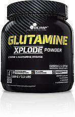 Glutamine Xplode, Olimp, 500 g, Pomeranč