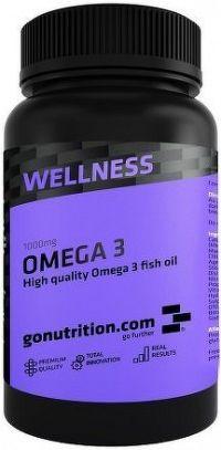 GoNutrition Omega 3 90 kapslí