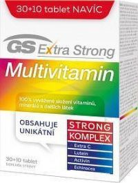 GS Extra Strong Multivitamin tbl.30+10