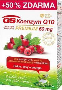 GS Koenzym Q10 60mg Premium cps. 30+15