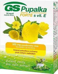 GS Pupalka Forte s vitaminem E cps.30