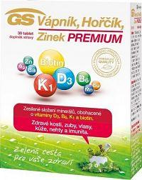 GS Vápník Hořčík Zinek PREMIUM tbl.30