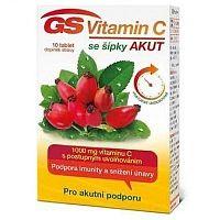 GS Vitamin C 1000 + šípky Akut tbl.10