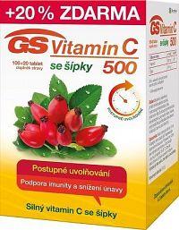 GS Vitamin C500 + šípky tbl.100+20