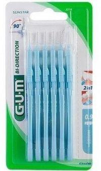 GUM mez.kart. BI-DIRECTION modr 0.9mm 6ks B2314M6