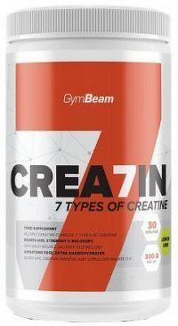 GymBeam Crea7in 300 g lemon lime