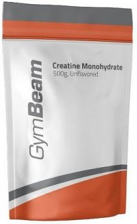 GymBeam Creatine Monohydrate (Creapure) lemon lime - 500 g
