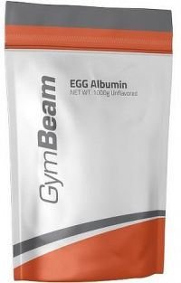 GymBeam Egg Albumin unflavored - 1000 g