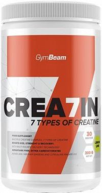 GymBeam Kreatin Crea7in 600 g green apple