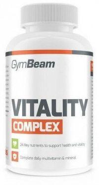 GymBeam Multivitamín Vitality Complex 60 tab unflavored
