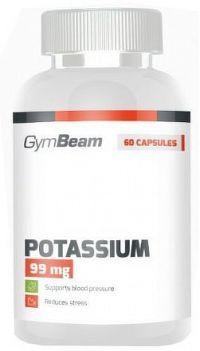 GymBeam Potassium unflavored - 60 kaps