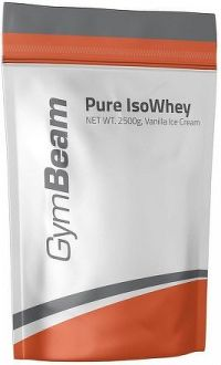 GymBeam Pure IsoWhey vanilla ice cream - 2500 g