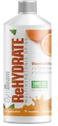GymBeam ReHydrate 1000 ml orange