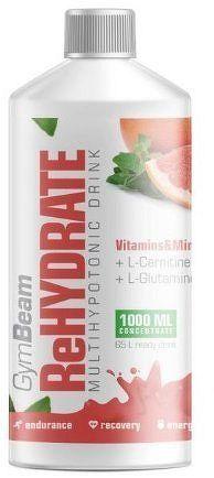 GymBeam ReHydrate 1000 ml pink grapefruit
