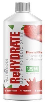 GymBeam ReHydrate 1000 ml strawberry