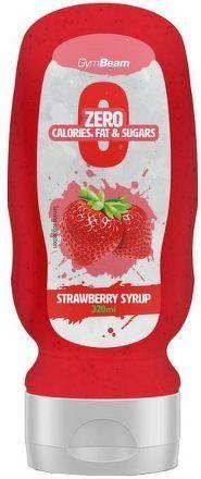 GymBeam Strawberry Syrup 320 ml strawberry