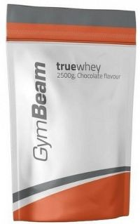 GymBeam True Whey Protein unflavored - 2500 g