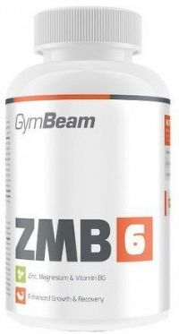 GymBeam ZMB6 unflavored - 60 kaps
