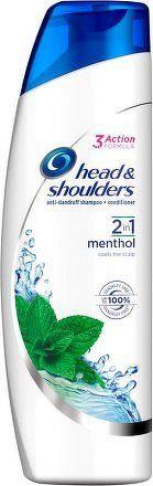 H&S šampón 2v1 Menthol 360ml