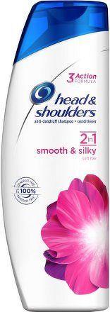 H&S šampón 2v1 Smooth & Silky 360ml