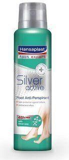 Hansaplast sprej na nohy SILVER ACTIVE 150ml 48574