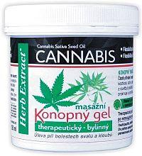 Herb Extract Cannabis Konopný masážní gel 250ml