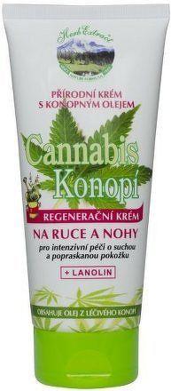 Herb Extract Regenerační krém na ruce a nohy - konopí 200ml