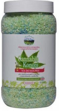 Herb Extract Relaxační sůl do koupele s konopím 1200g