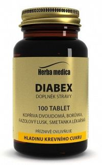 Herba medica Diabex 100 tbl.