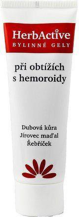 HERBACTIVE-gel při obtížích s hemoroidy 50ml PAVES