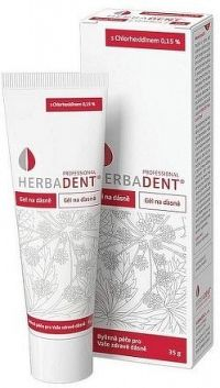 Herbadent Professional gel na dásně s CLD 35g